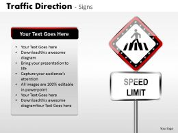 Traffic Direction Signs ppt 6