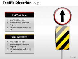 Traffic Direction Signs ppt 9