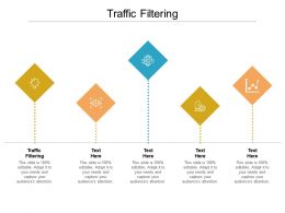 Traffic Filtering Ppt Powerpoint Presentation Inspiration Graphics Tutorials Cpb
