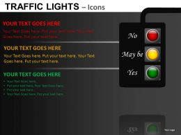 Traffic Lights Icons Powerpoint Presentation Slides DB