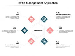 Traffic Management Application Ppt Powerpoint Presentation Professional Graphics Cpb