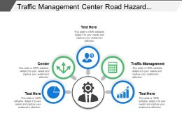 Traffic Management Center Road Hazard Alerts Traveler Information
