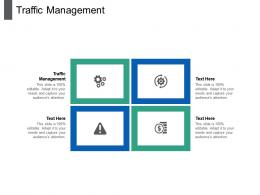 Traffic Management Ppt Powerpoint Presentation Summary Graphics Pictures Cpb