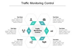 Traffic Monitoring Control Ppt Powerpoint Presentation Icon Slides Cpb