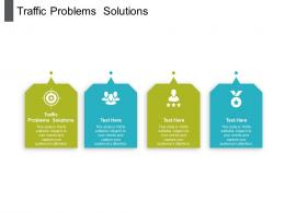 Traffic Problems Solutions Ppt Powerpoint Presentation Layouts Slide Portrait Cpb