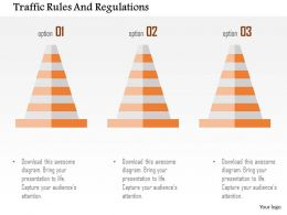 Traffic Rules And Regulations Flat Powerpoint Design