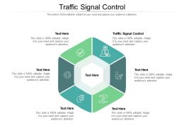 Traffic Signal Control Ppt Powerpoint Presentation Gallery Slideshow Cpb