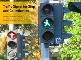 Traffic Signal For Stop And Go Indication