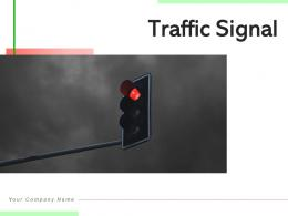 Traffic Signal Gesture Individual Positions Directional Symbols Indication