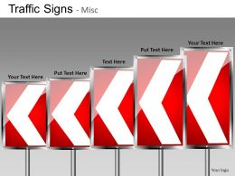 Traffic Signs Misc Powerpoint Presentation Slides DB