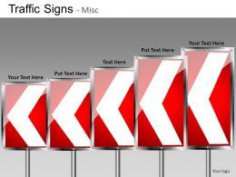 Traffic Signs Misc Powerpoint Presentation Slides DB