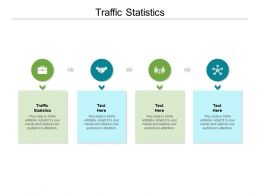 Traffic Statistics Ppt Powerpoint Presentation Professional Templates Cpb