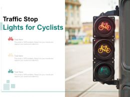 Traffic Stop Lights For Cyclists