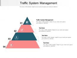 Traffic System Management Ppt Powerpoint Presentation Inspiration Rules Cpb