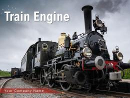 Train Engine Locomotive Background Platform Stream