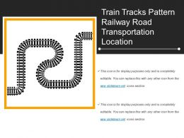 Train Tracks Pattern Railway Road Transportation Location
