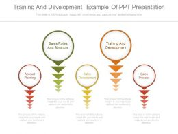Training And Development Example Of Ppt Presentation