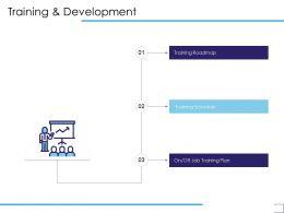 Training And Development Job Training Plan Ppt Powerpoint Presentation Ideas Aids