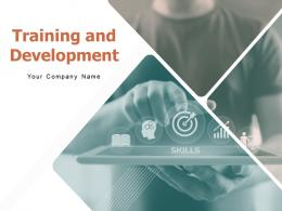 Training And Development Powerpoint Presentation Slides
