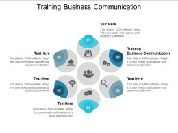 Training Business Communication Ppt Powerpoint Presentation Portfolio Guide Cpb