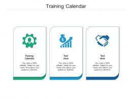 Training Calendar Ppt Powerpoint Presentation Layouts Format Cpb