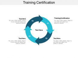 Training Certification Ppt Powerpoint Presentation Layouts Example Introduction Cpb