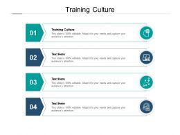 Training Culture Ppt Powerpoint Presentation Portfolio Graphics Template Cpb