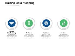 Training Data Modeling Ppt Powerpoint Presentation File Slide Download Cpb