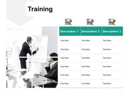 Training Description H209 Ppt Powerpoint Presentation Professional Templates