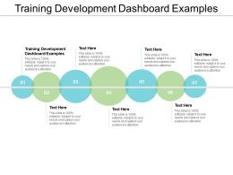 Training Development Dashboard Examples Ppt Powerpoint Presentation Ideas Display Cpb