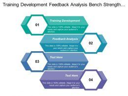 Training Development Feedback Analysis Bench Strength Assessment Define Market