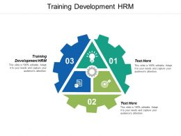 Training Development HRM Ppt Powerpoint Presentation Ideas Outline Cpb