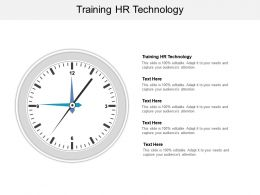 Training Hr Technology Ppt Powerpoint Presentation Summary Gallery Cpb