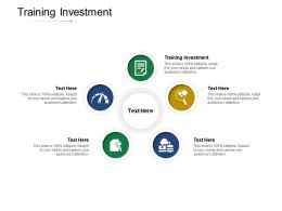 Training Investment Ppt Powerpoint Presentation Icon Grid Cpb
