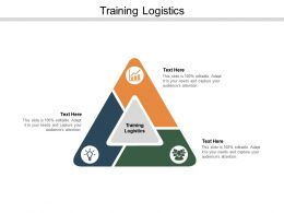 Training Logistics Ppt Powerpoint Presentation Portfolio Show Cpb