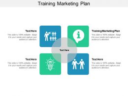 Training Marketing Plan Ppt Powerpoint Presentation Outline Infographic Template Cpb