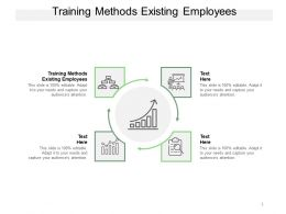 Training Methods Existing Employees Ppt Powerpoint Presentation Infographics Graphics Cpb