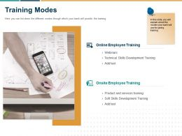 Training Modes Ppt Powerpoint Presentation Summary Backgrounds