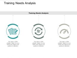 Training Needs Analysis Ppt Powerpoint Presentation Gallery Grid Cpb