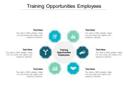 Training Opportunities Employees Ppt Presentation Professional Slide Portrait Cpb
