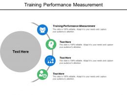 Training Performance Measurement Ppt Powerpoint Presentation Model Mockup Cpb