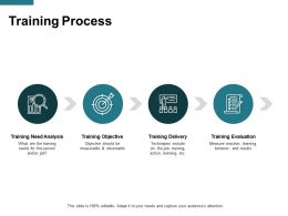 Training Process Big Data Ppt Powerpoint Presentation Icon Rules