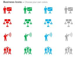 Training Promotion Dialogue Competition Ppt Icons Graphic