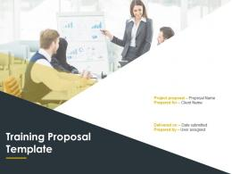 Training Proposal Template Powerpoint Presentation Slides