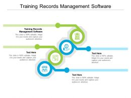Training Records Management Software Ppt Powerpoint Ideas File Formats Cpb