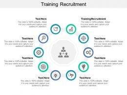 Training Recruitment Ppt Powerpoint Presentation Styles Cpb
