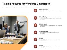 Training Required For Workforce Optimization Software Ppt Powerpoint Presentation File Gridlines