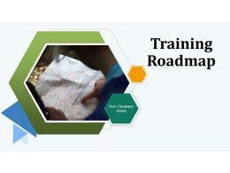 Training Roadmap Powerpoint Presentation Slides