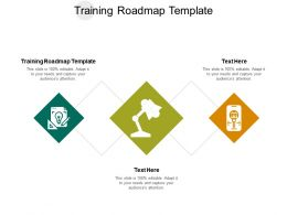 Training Roadmap Template Ppt Powerpoint Presentation Layouts Layout Ideas Cpb
