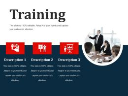 Training Sample Of Ppt Presentation
